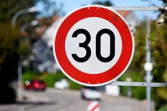 Ab Mittwoch gilt auf der Basler Landstraße in St. Georgen teils Tempo 30