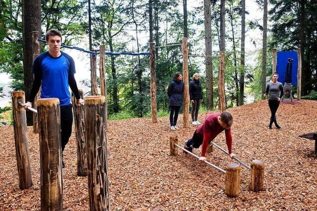Forstamt und Uni errichten im Freiburger Sternwald einen Bewegungspark