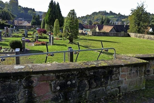 Mehr pflegearme Bestattungsformen
