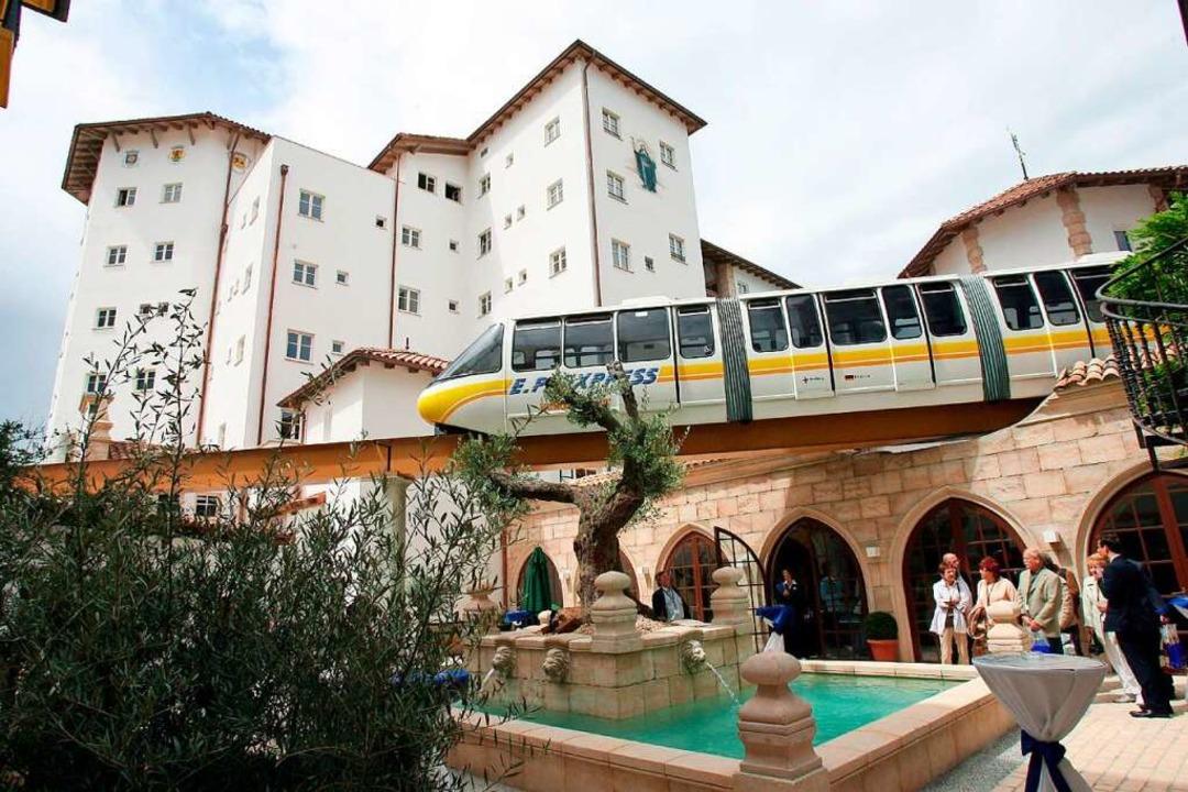 "Ein Hotel des Europa-Parks trägt den Namen ""Santa Isabel""  | Foto: A2070 Rolf Haid"
