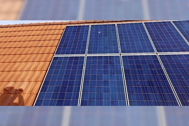 Neubau bekommt Photovoltaik aufs Dach