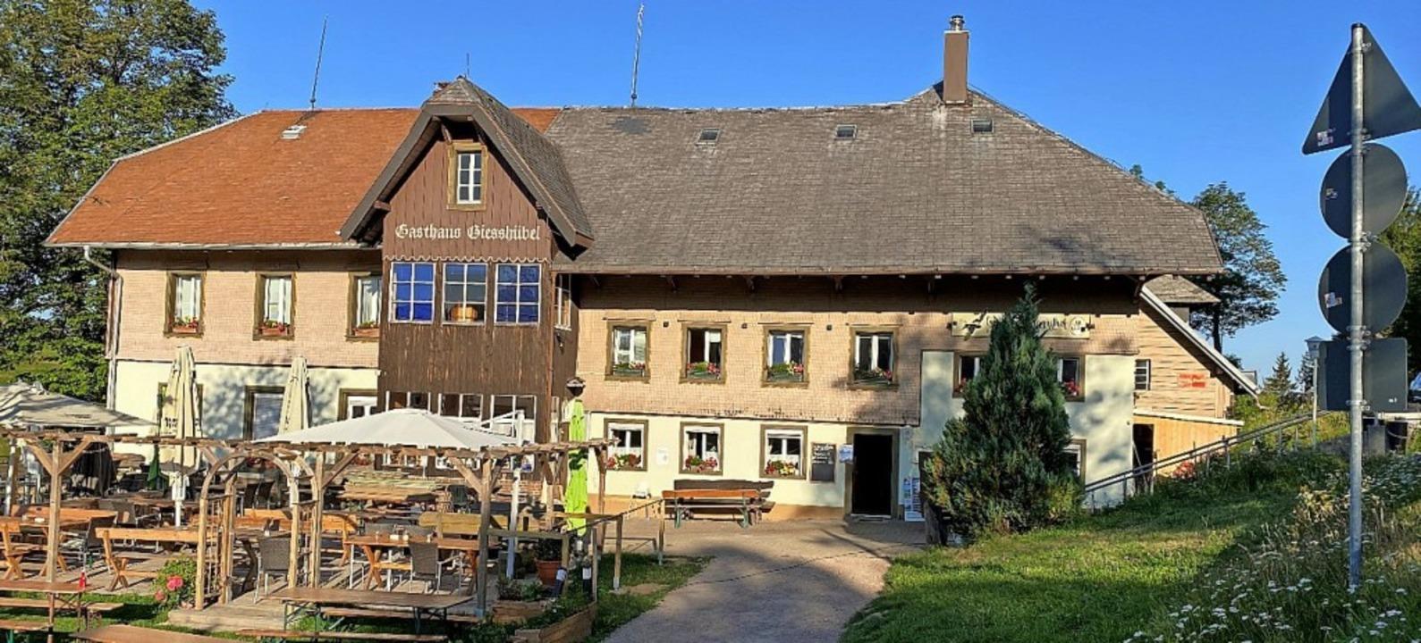 Das Gasthaus Gießhübel auf dem Stohren wie es sich derzeit präsentiert.  | Foto: Gemeinde Münstertal