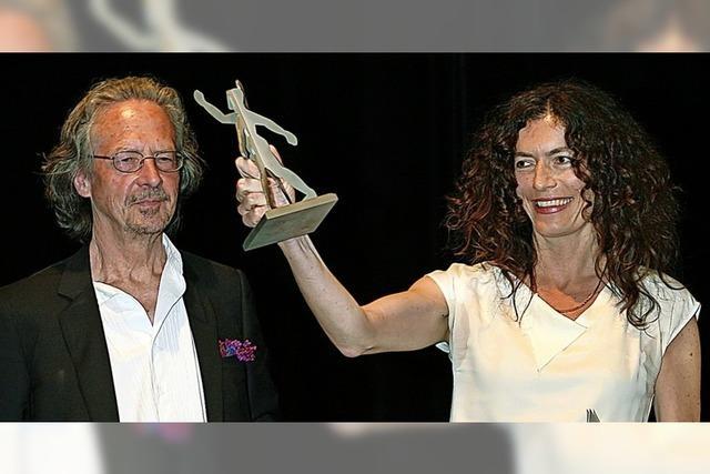 Anne Weber erhielt 2008 den Übersetzerpreis Offenburg