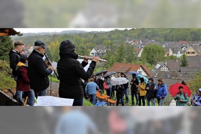 Blasmusik und edle Tropfen