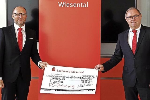 23 500 Euro für die Wunschliste