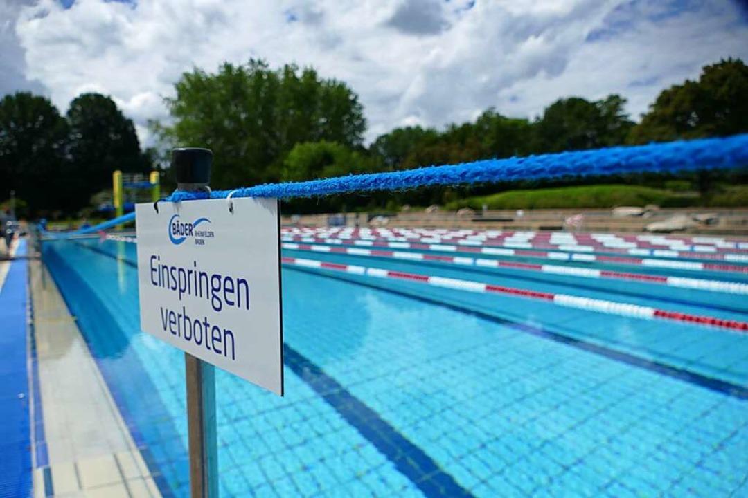 Immer weniger Kinder können schwimmen,...etriebe Rheinfelden etwas unternehmen.    Foto: Elena Borchers