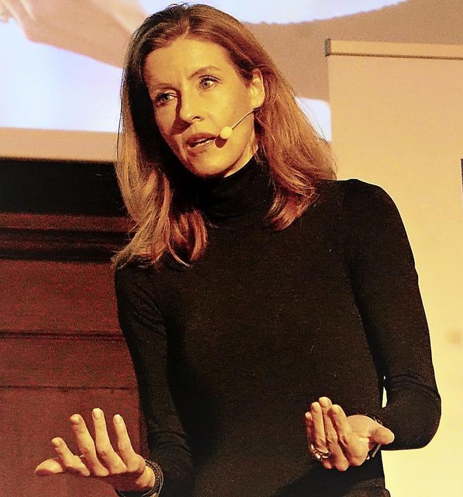 Die Referentin Monika Matschnig  | Foto: Nicolaus wilhelm
