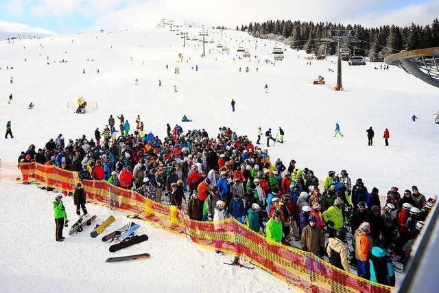 Am Feldberg gibt es diesen Winter nur Tageskarten für die Skilifte