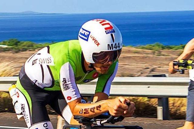 Ein Freiburger Quartett vermisst den Ironman auf Hawaii