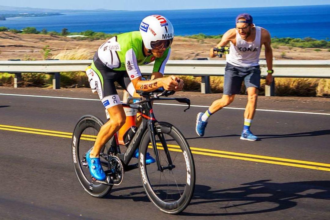 Statt auf dem Rennrad zu kämpfen, genießt Marc Dülsen derzeit  Vaterfreuden.  | Foto: privat