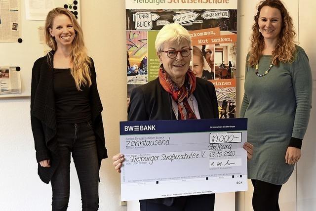 10 000 Euro für Straßenschule