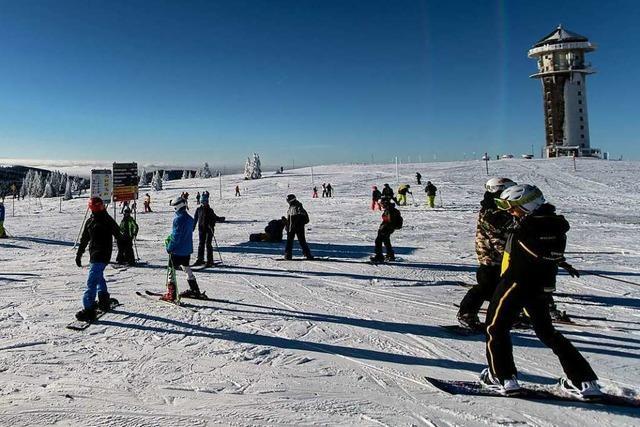 Corona-Konzept könnte Blaupause für künftige Ski-Saisons am Feldberg werden