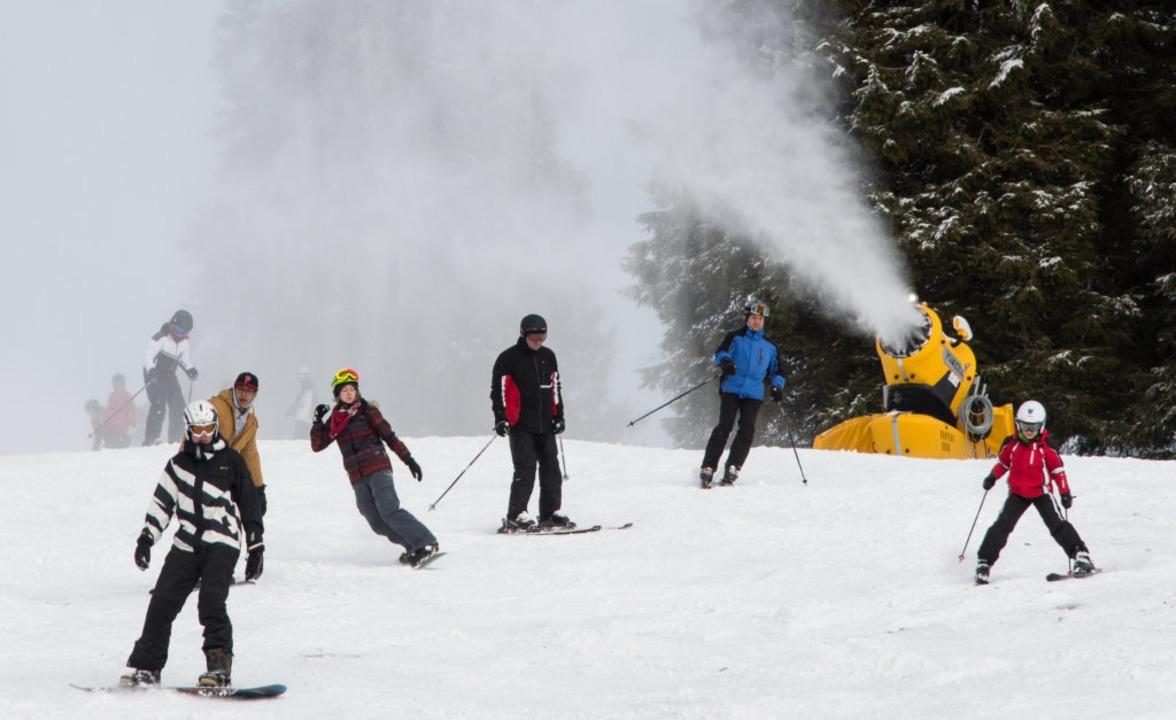 Der kommende Ski-Winter auf dem Feldbe...hts der Corona-Lage klar. (Archivbild)  | Foto: Patrick Seeger
