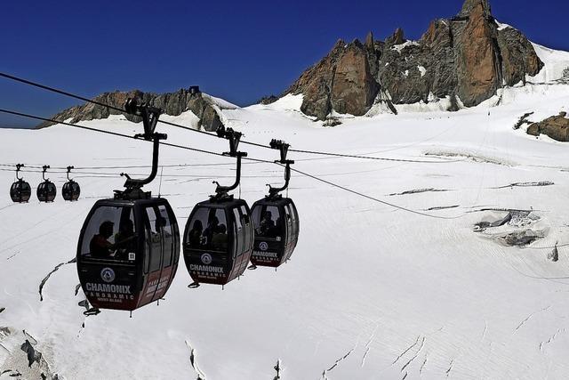 Ein Jacuzzi auf dem Mont Blanc