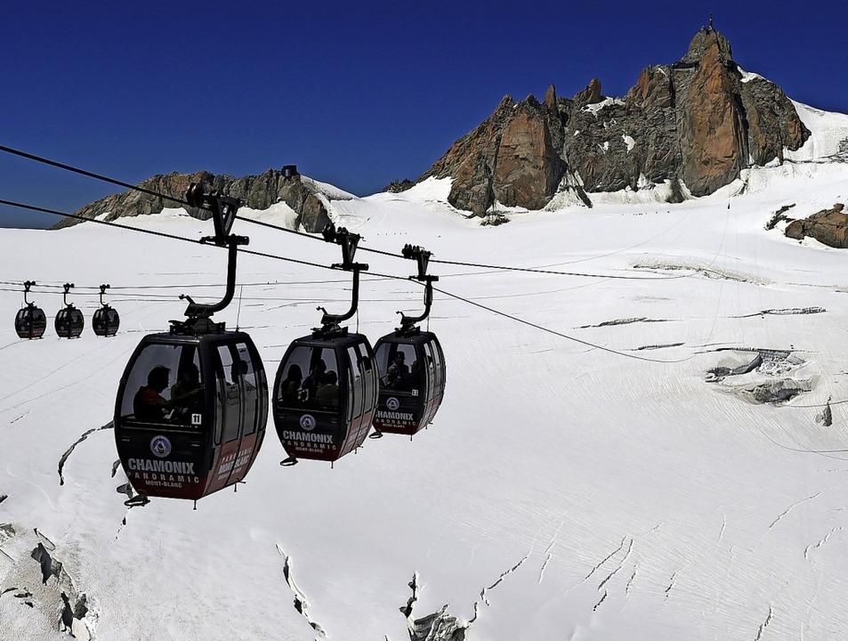 Diesen Ausblick aus der Panoramabahn des Mont Blanc gilt es zu schützen.  | Foto: Philippe Desmazes