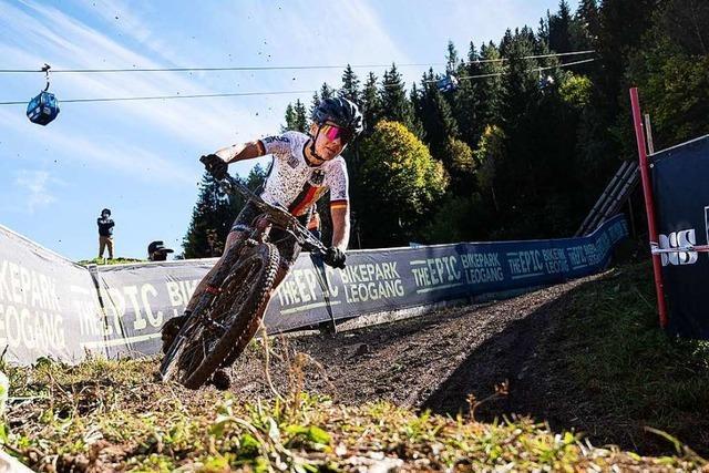 Die Nollingerin Finja Lipp fährt bei der Junioren-WM fast in die Top Ten
