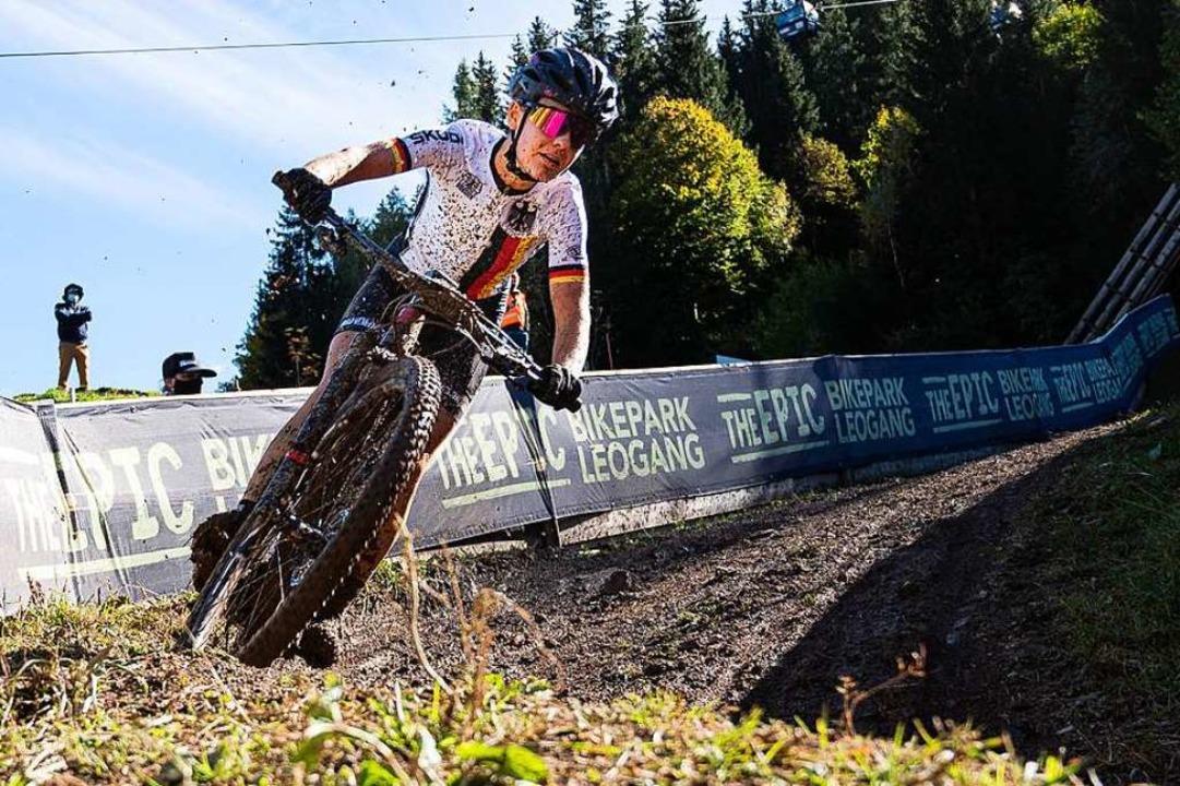 Überholt schon mal an unerwarteten Ste...Europameisterschaft in der Schweiz an.  | Foto: Merlin Muth