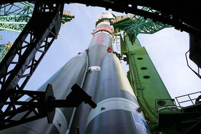 Drei Raumfahrer trotz Corona-Pandemie zur ISS gestartet