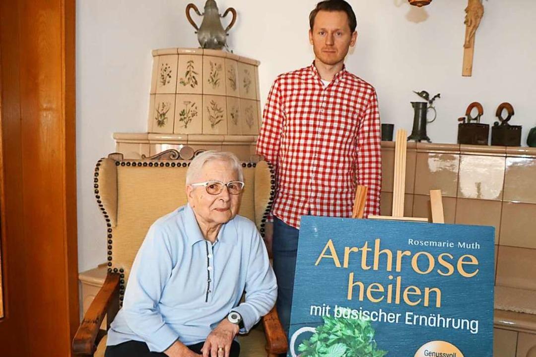 Rosemarie Muth und Adam Faszczewski  | Foto: Dieter Maurer