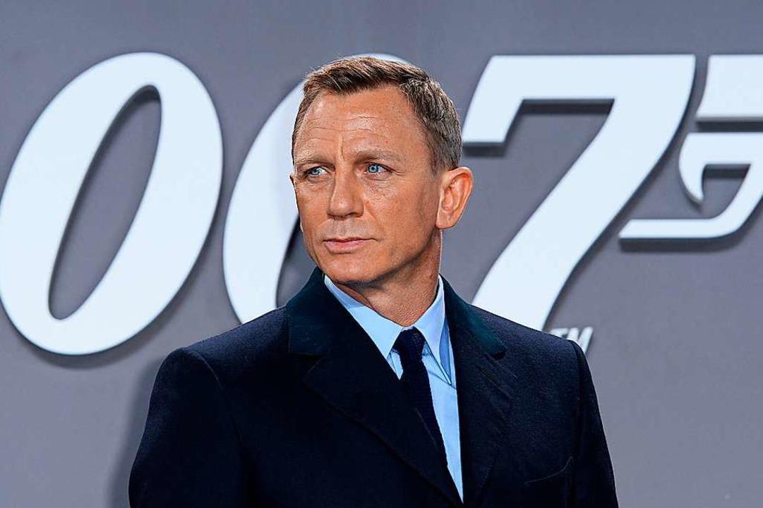 Der Schauspieler Daniel Graig spielt seit 2006 James Bond    Foto: Britta Pedersen