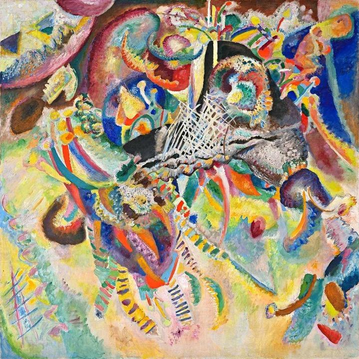 Wassily Kandinsky, Fuga, 1914  | Foto: Fondation Beyeler