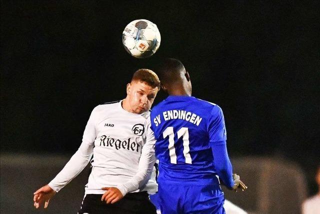 Gerechtes Remis im Derby zwischen dem FC Teningen und SV Endingen