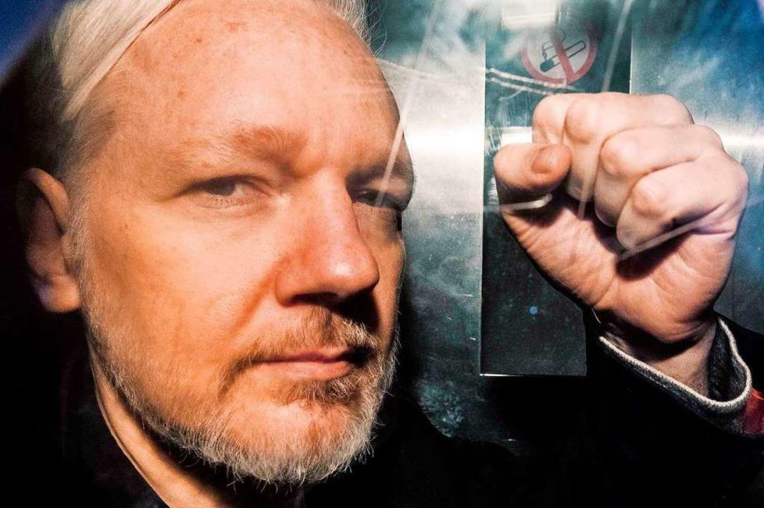 Wikileaks-Gründer Julian Assange (2019  | Foto: DANIEL LEAL-OLIVAS (AFP)