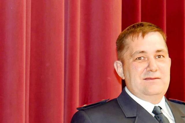 Armin Schweizer übernimmt das Kommando bei der Feuerwehr Hinterzarten