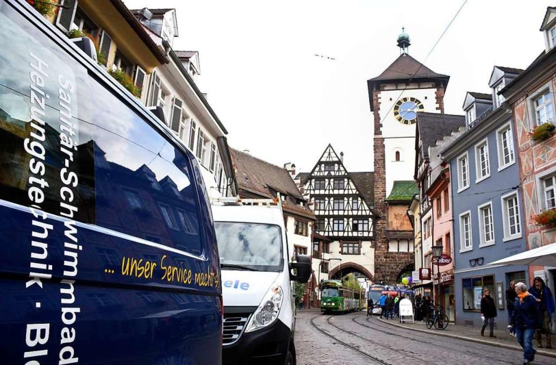 In Oberlinden darf mit einer Handwerke...den – allerdings nur im Notfall.  | Foto: Thomas Kunz