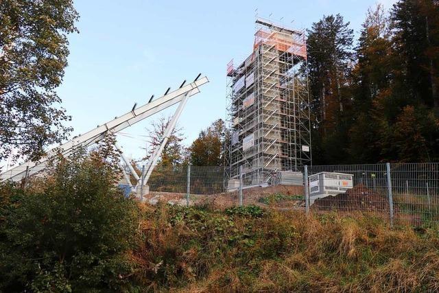 Planungsfehler stoppt Bauarbeiten an Hinterzartener Schanze