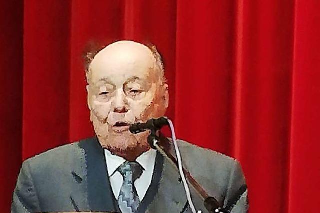 Ulrich Schmidt jetzt Ehrenbürger von Rickenbach