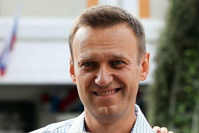 Alexej Nawalny macht Urlaub im Schwarzwald – unter Polizeischutz