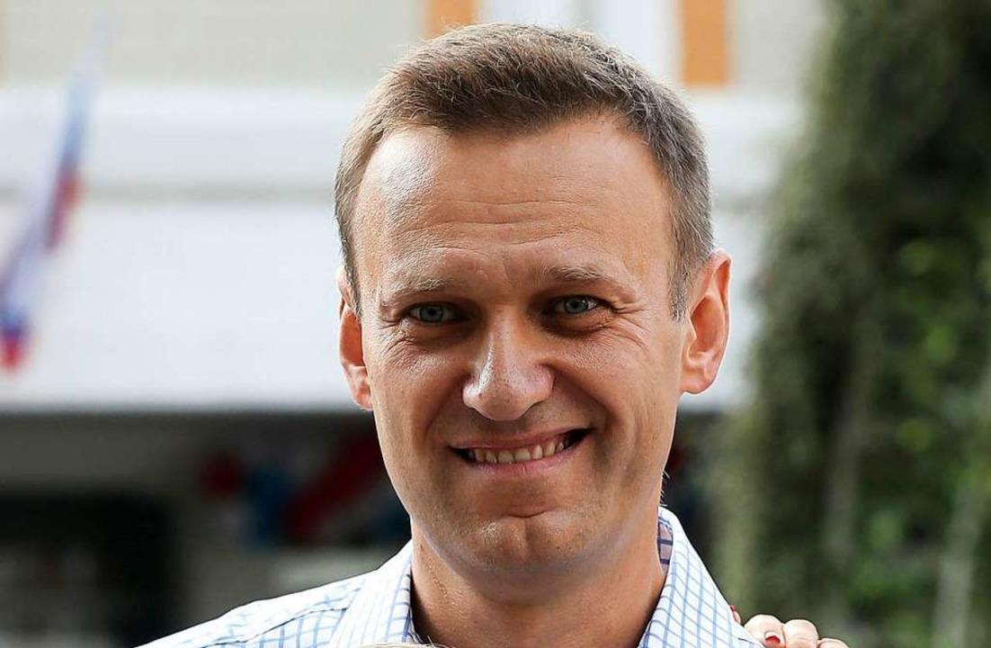 Alexej Nawalny    Foto: Andrew Lubimov (dpa)