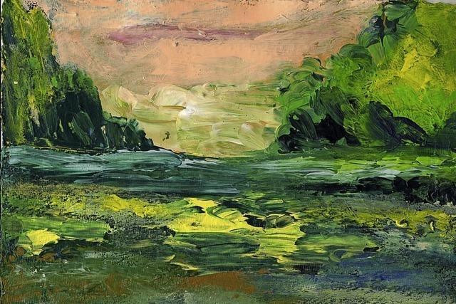 Die beiden regionalen Künstler Jean-Luc Ringwald und Bernhard Moog stellen in der Kleinen Galerie aus