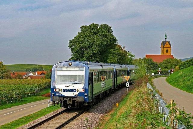 Auf der Kaiserstuhlbahn sollen mehr Waggons eingesetzt werden