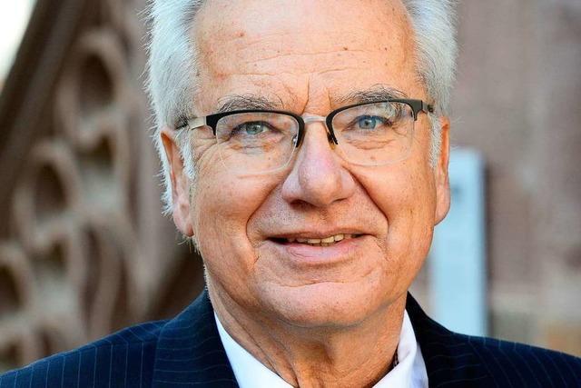 Peter Reuß von der Freiburger Stadtentwässerung geht in Ruhestand