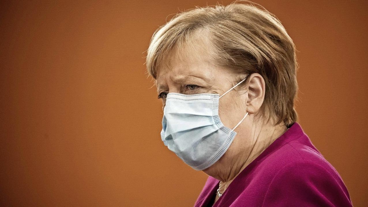 Kanzlerin Angela Merkel will einen ern...n wie im Frühjahr unbedingt vermeiden.    Foto: MICHAEL KAPPELER (AFP)
