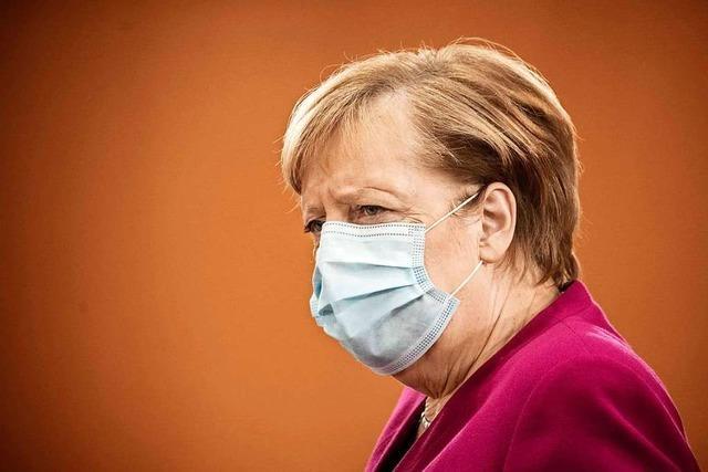 Video: Merkel, Müller und Söder appellieren an Eigenverantwortung
