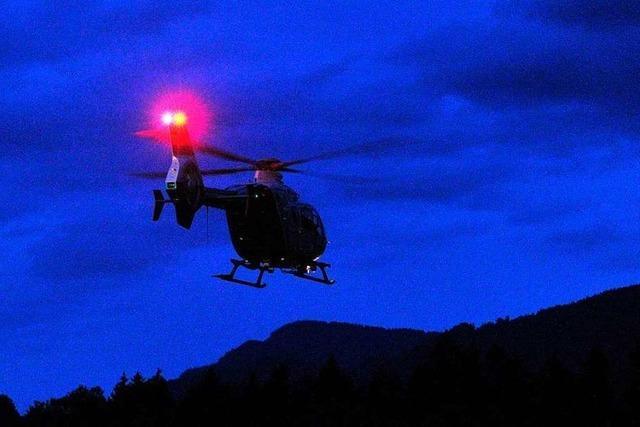 Polizei suchte vermissten Senior bei Schopfheim