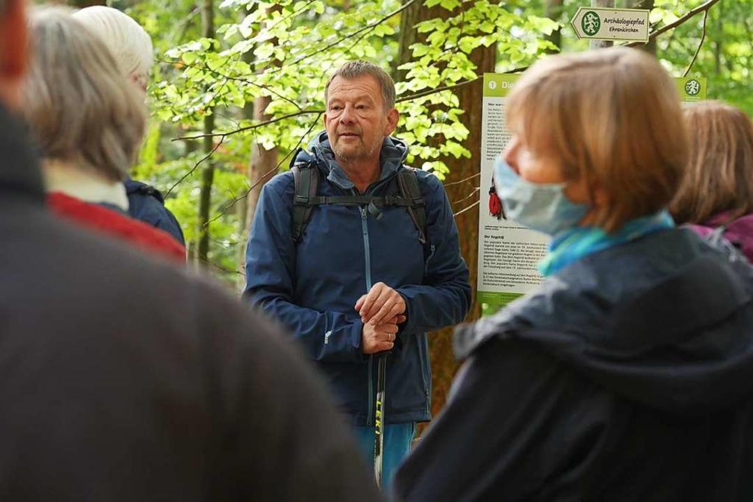 22 Menschen haben bei der BZ-Hautnah-V...ogiepfad in Ehrenkirchen teilgenommen.    Foto: Jannik Jürgens