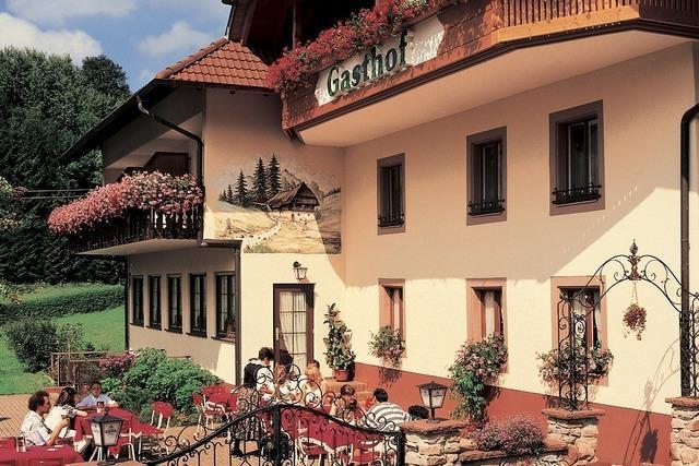 Vom Bahnhof Elzach zum Landgasthof Adler-Pelzmühle