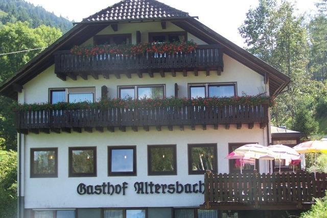 Hotel-Waldgasthof Altersbach: Ein Besuch lohnt sich auch zu Kaffee