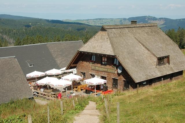 Die St. Wilhelmer Hütte ist die höchstgelegene Almhütte im Schwarzwald