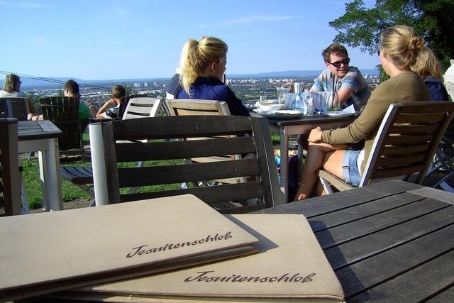 Das Restaurant Jesuitenschloss bietet Qualität mit Rundblick