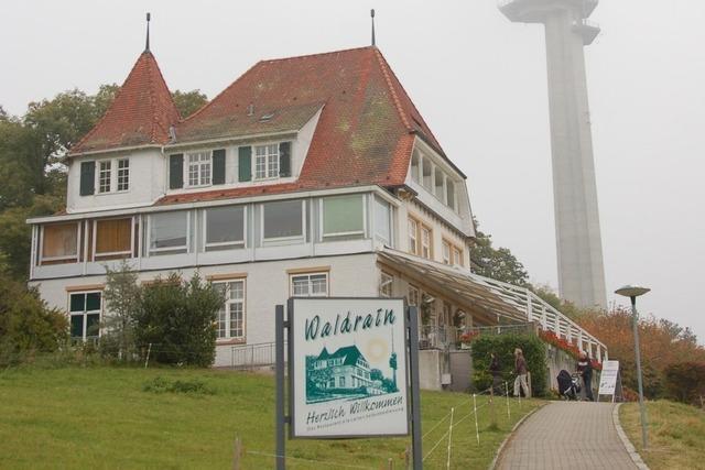 Restaurant Waldrain St. Chrischona: Wechselgeld gibt's in Franken