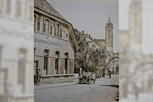Ein leicht geschöntes Bild der Säckinger Altstadt
