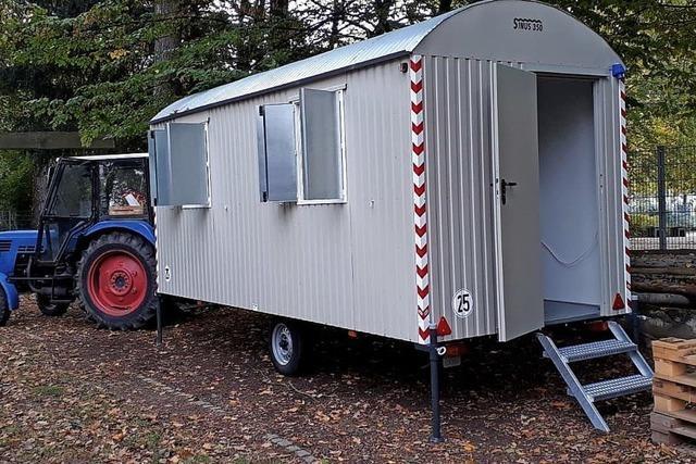 Bauwagen für den Abenteuerspielplatz