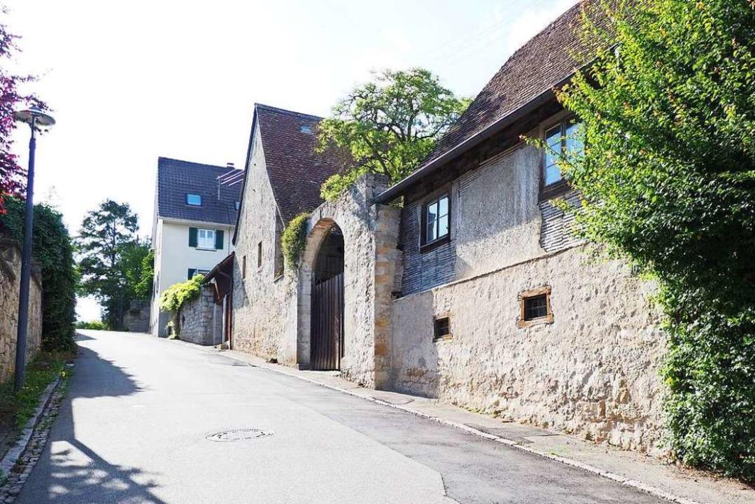 Der alte Gutshof in der Blansinger Ale...n für einen Antik- und Raritätenmarkt.    Foto: Herbert Frey