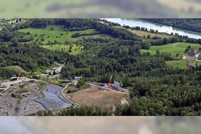 Biogasanlage für den Lachengraben