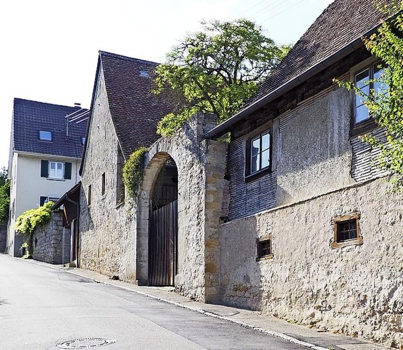 Der alte Gutshof in Blansingen öffnet am Samstag sein Tor.   | Foto: Herbert Frey